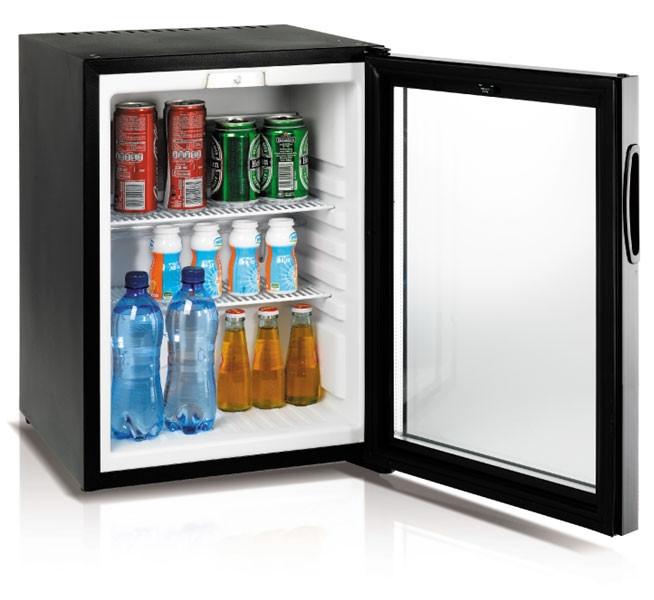 Minibar per hotel casa ufficio 30 lt porta in vetro h3410