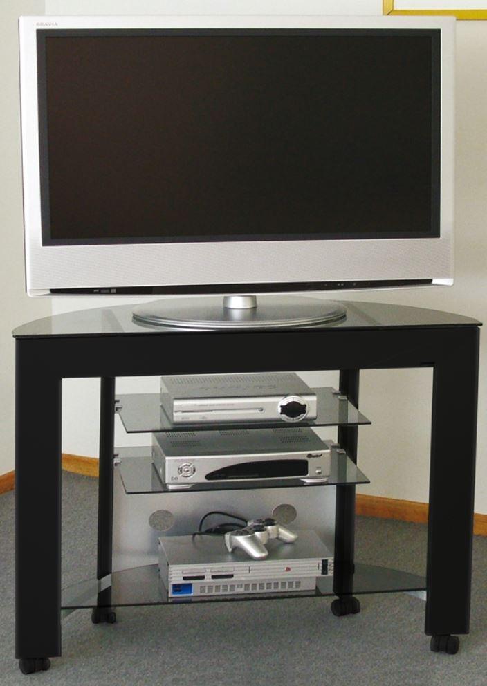 Tavolino Porta Tv Con Ruote.Cerchi Mobile Portatv In Alluminio E Cristallo Con Ruote H12509