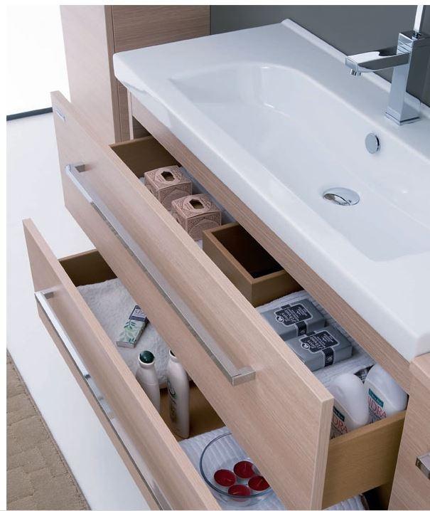 Cerchi mobile bagno sospeso con lavabo h21001 - Lavabo bagno sospeso con mobile ...