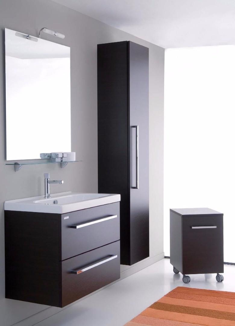 Cerchi mobile bagno sospeso con lavabo h21001 for Lavabo e mobile bagno