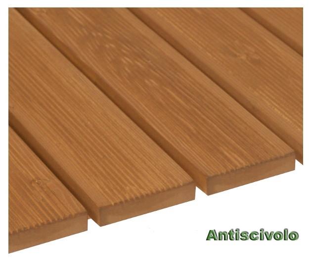 Piastrelle in legno per pavimenti da esterno h12626