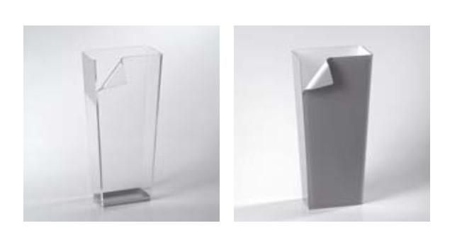Cerchi portaombrelli di design vesta in plexi h9633 - Portaombrelli design originale ...
