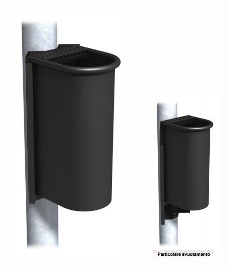 Posacenere da esterno in lamiera zincata h140236 for Posacenere da esterno ikea