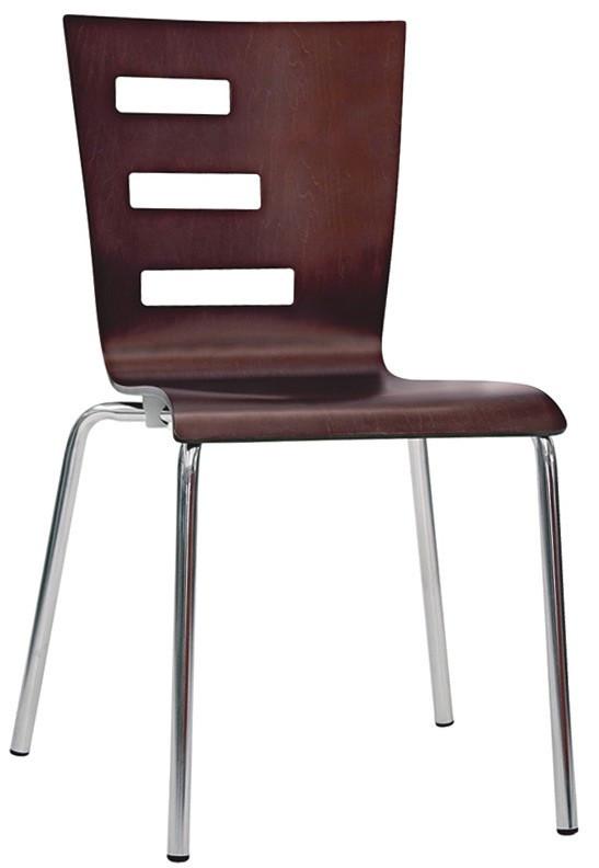 Sedia in legno h26301 for Sedie acciaio e legno