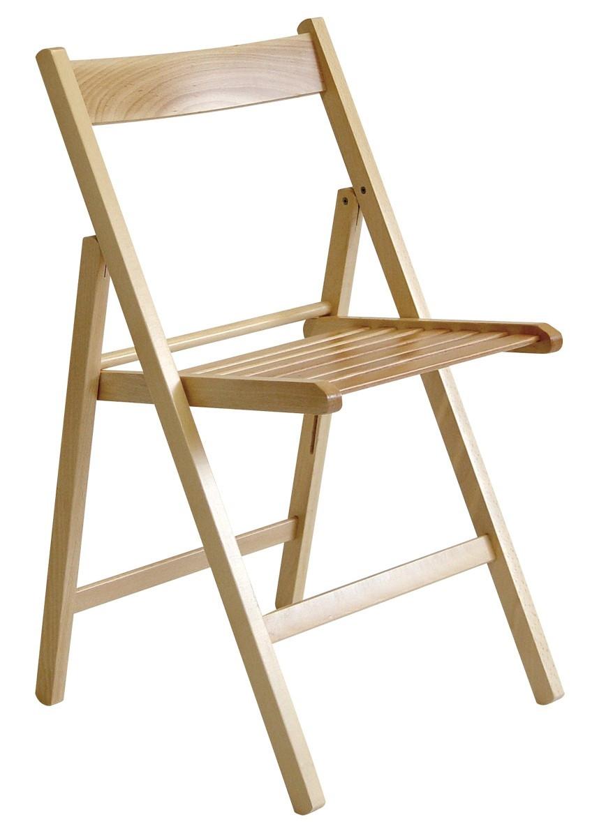 Sedia pieghevole in legno h8246 for Sedia pieghevole ikea
