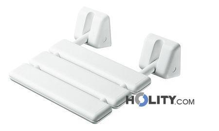 Sedile Doccia Legno : Cerchi sedile per doccia ribaltabile antiscivolo in abs e