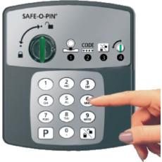 Serratura elettronica a codice con deposito h2705