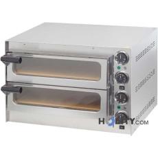 Forno-pizza-2-camere-con-fondo-in-pietra-refrattaria-h11039