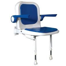 Sedile imbottito con schienale e braccioli h13412