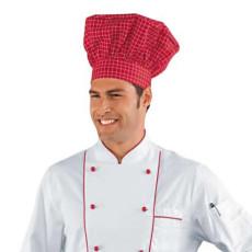 cappello-chef-in-cotone-rosso
