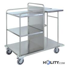 carrello-raccolta-e-distribuzione-biancheria-in-acciaio-inox-h5520