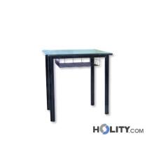 banco-scuola-con-griglia-in-metallo-h17237