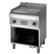 fry-top-a-gas-su-armadio-aperto-per-cucine-professionali--h35932