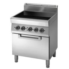 cucina-professionale-con-piano-cottura-in-vetroceramica-e-forno-h35971