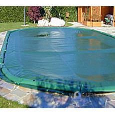 Copertura invernale per piscine interrate in poliestere tonda diametro 6mt h17424