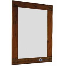 Specchio con cornice in legno d'acacia h13702