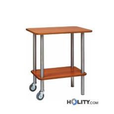 carrello-di-servizio-in-legno-e-acciaio-inox-h0930