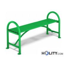 panchina-senza-schienale-in-metallo-per-arredo-urbano-h14028
