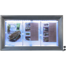display-a-led-3a4-in-acciaio-rivestito-h14812