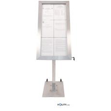 display-a-led-6a4-in-acciaio-inox-satinato-h14815