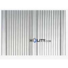 Tappeto tecnico in alluminio 150x150 h15815