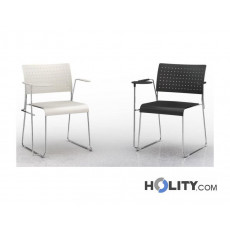 sedia-per-sala-meeting-con-ribaltina-h17725