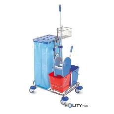 carrello-pulizia-professionale-con-base-cromata-h17906