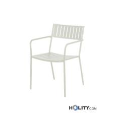 poltroncina-da-giardino-impilabile-in-acciaio-verniciato-h19203