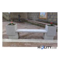 panchina-con-fioriere-per-arredo-urbano-h45008