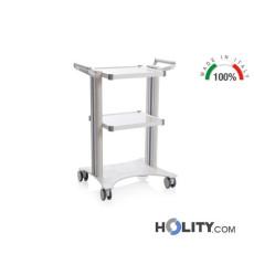 carrello-per-elettromedicali-2-ripiani-h582-15