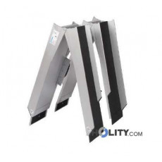 Rampe pieghevoli per disabili in alluminio h8917