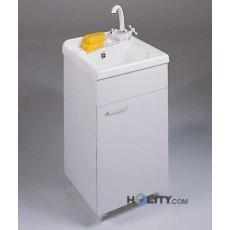 Lavatoio con vasca in metacrilato h15618