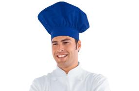 cappello-cuoco-h6529-blu-cina