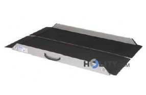 Rampa mobile per disabili a piegamento singolo h8921