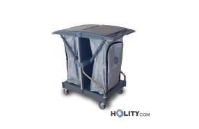 carrello-pulizia-con-doppio-supporto-sacco-h17921