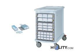 carrello-farmacia-double-face-h1355