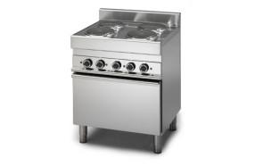 cucina-professionale-elettrica-4-piastre-con-forno-a-convezione-h35965