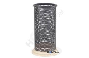 cestone-portarifiuti-in-metallo-con-base-in-cemento-h140149