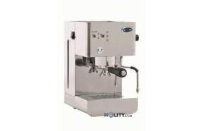 Macchina professionale per caffè espresso in acciaio inox con controllo temperatura h13212