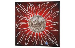 Pannello-quadro-decorato-a-mano-con-foglia-argento-h11930