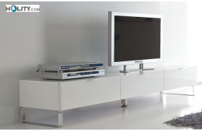 Base portatv in legno con 3 cassetti h18603 h18603