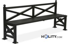 panchina-in-metallo-per-arredo-urbano-h140190