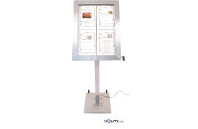 display-a-led-4a4-in-acciaio-inox-satinato-h14814