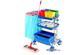 carrello-per-disinfezione-con-base-cromata-h17907