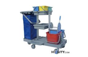 carrello-pulizia-professionale-con-base-centrale-h17916
