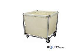 cesto-portabiancheria--in-acciaio-inox-con-sacco-h21540