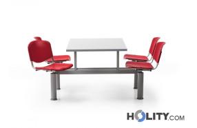tavolo-mensa-con-4-sedute-girevoli-h28620
