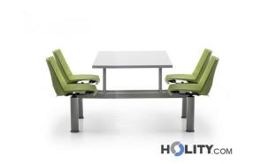 tavolo-per-mensa-con-4-sedie-fisse-h28622