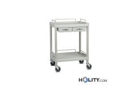 carrello-per-medicazioni-con-2-cassetti-h333-07