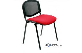 sedia-per-meeting-con-struttura-verniciata-nera-e-schienale-di-design-h44924